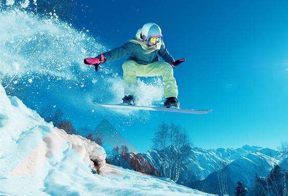 Servizio snowboard